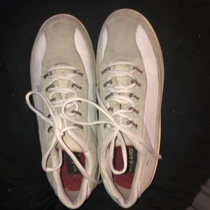 Men's LUGZ Sneakers Size 10 White with Grey Suede